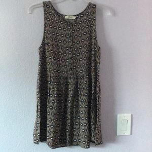 Multicolored Elodie Anthropologie rayon dress